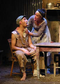 Mark Alexandre Fortin, Jennifer Mackey in Mud by Maria Irene Fornes